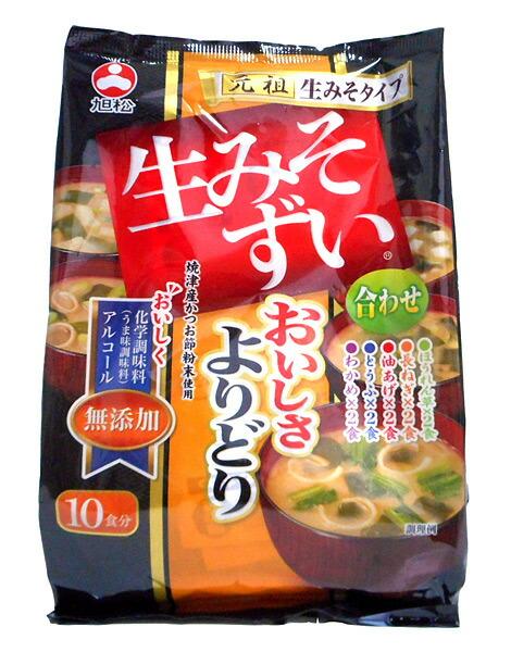 旭松食品 生みそずい無添加よりどり 10食 196.4g(10食) ×10個【イージャパンモール】