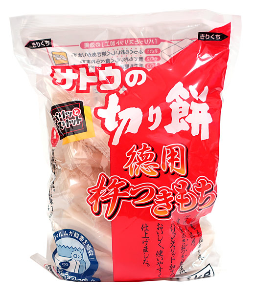 佐藤食品 徳用杵つき餅 角もち 1.1kg ×10個【イージャパンモール】