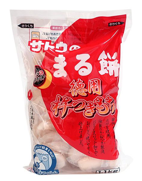 佐藤食品 徳用杵つき餅 丸もち 1.1kg ×10個【イージャパンモール】