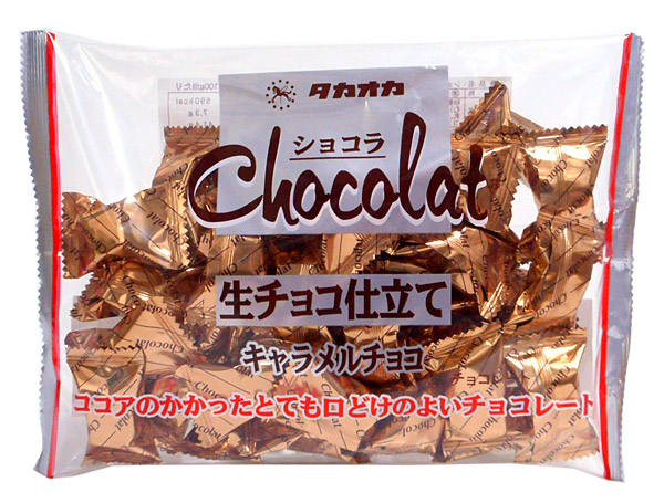 高岡 ショコラ生チョコ仕立てキャラメルチョコ165g【イージャパンモール】
