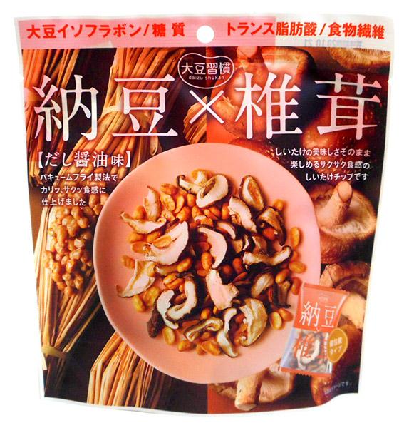 ★まとめ買い★ MDホールディングス 大豆習慣 納豆×椎茸 ×12個【イージャパンモール】