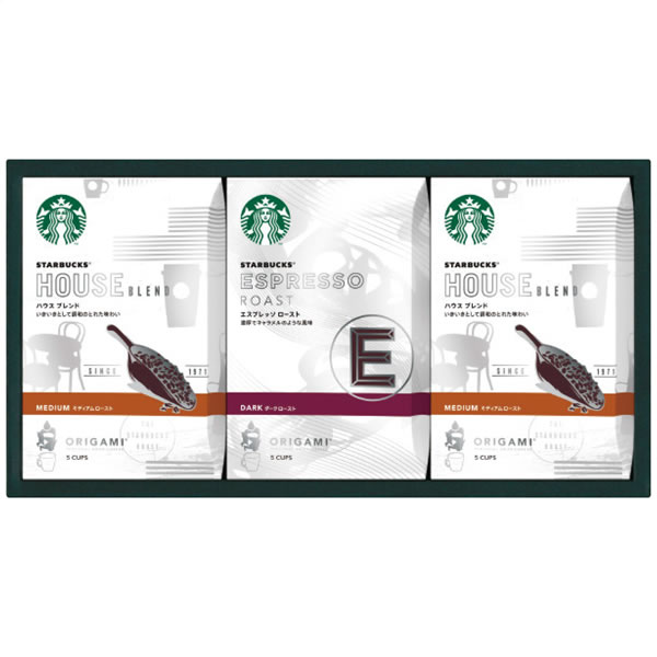 【送料無料】スターバックス スターバックス オリガミパーソナルドリップコーヒーギフト SB-20S SB-20S【ギフト館】