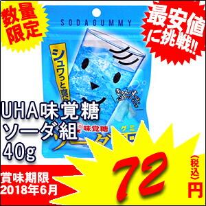 味覚糖ソーダ組