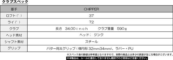 CHIPPER Lab チッパーラボ パター型チッパー