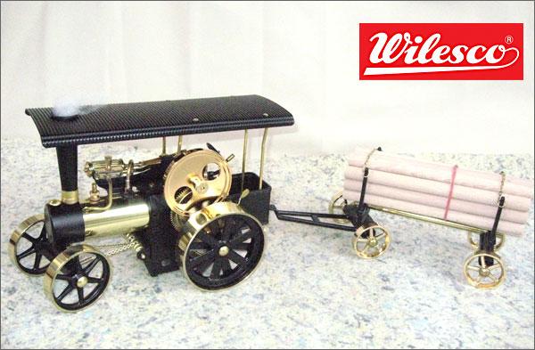 蒸気エンジン付きポンプ消防車