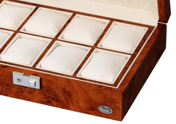 エスプリマ  LUHW(ローテンシュラーガ) 木製8本用時計収納ケース