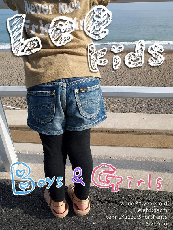 Lee GIRLS Heritageショーツ LK2220