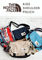 【THE NORTH FACE ザ ノースフェイス】キッズ ショルダー ポーチ K SHOULDER POUCH NMJ71753