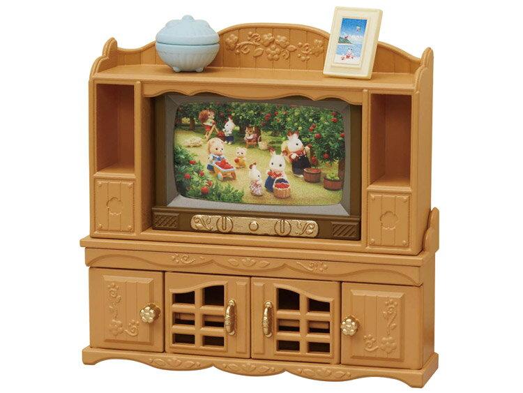 カ-522 シルバニアファミリー テレビ・テレビ台セット