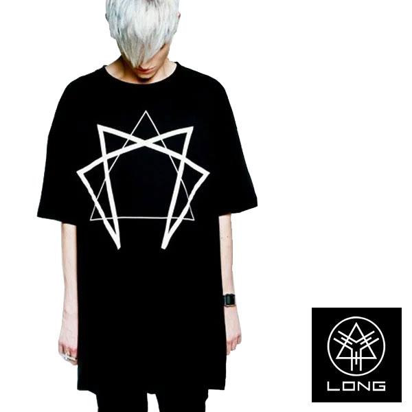 ビッグtシャツ メンズ long clothing ロングクロージング Enneagram Tシャツ/パン...