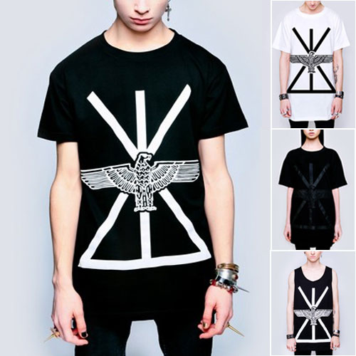 LONGCLOTHING×BOYLONDON イーグルtシャツ