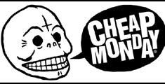 April77と並ぶスキニーパンツの火付け役ブランド。Cheap Manday(チープマンデイ)
