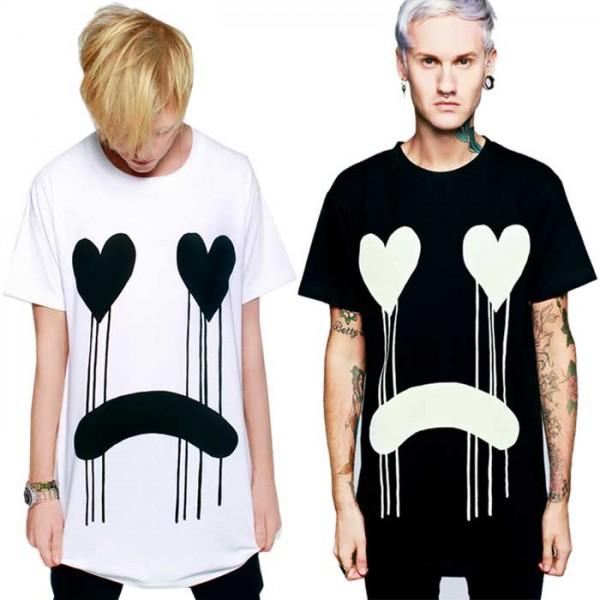 ビックtシャツ ロングクロージング long clothing DRIPPY Tシャツ 2カラー/パンク ...