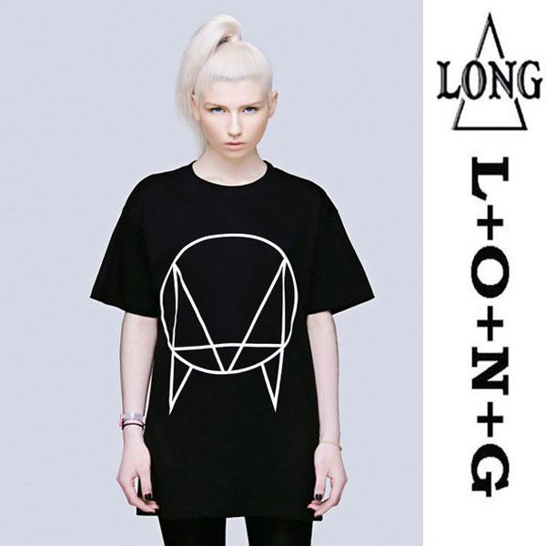 LONG CLOTHING ロングクロージング owsla ビックTシャツ パンク ロック ファッショ...