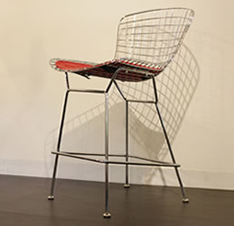 Wire Bar Stool High