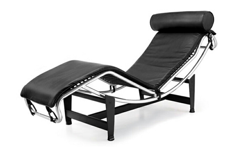Lc4 chaise longue for Le corbusier meuble