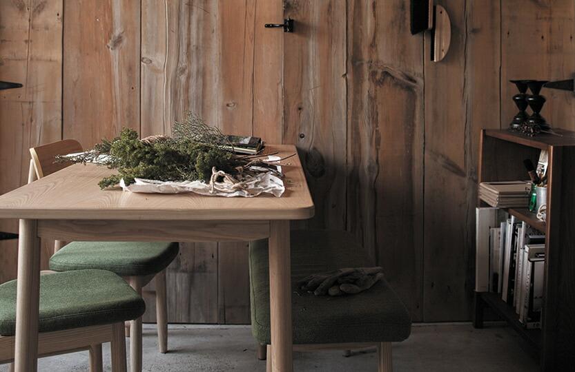 saucer dining table Lsize / ソーサー ダイニングテーブル Lサイズ
