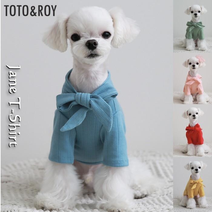 犬用品/ドッググッズ/TOTO&ROY/トトアンドロイ/ジェーンTシャツ