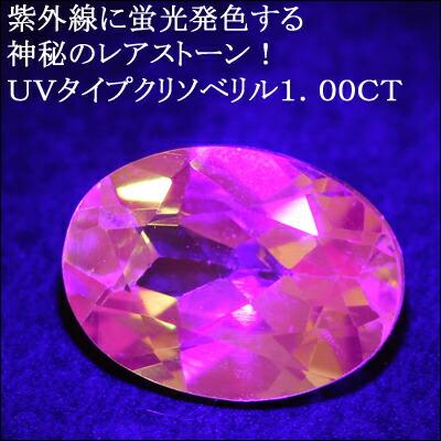 UVクリソベリル1.00CT