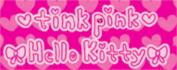 HELLO KITTY tink pink