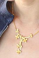 24K 純金ネックレス(四つ葉のクローバー)