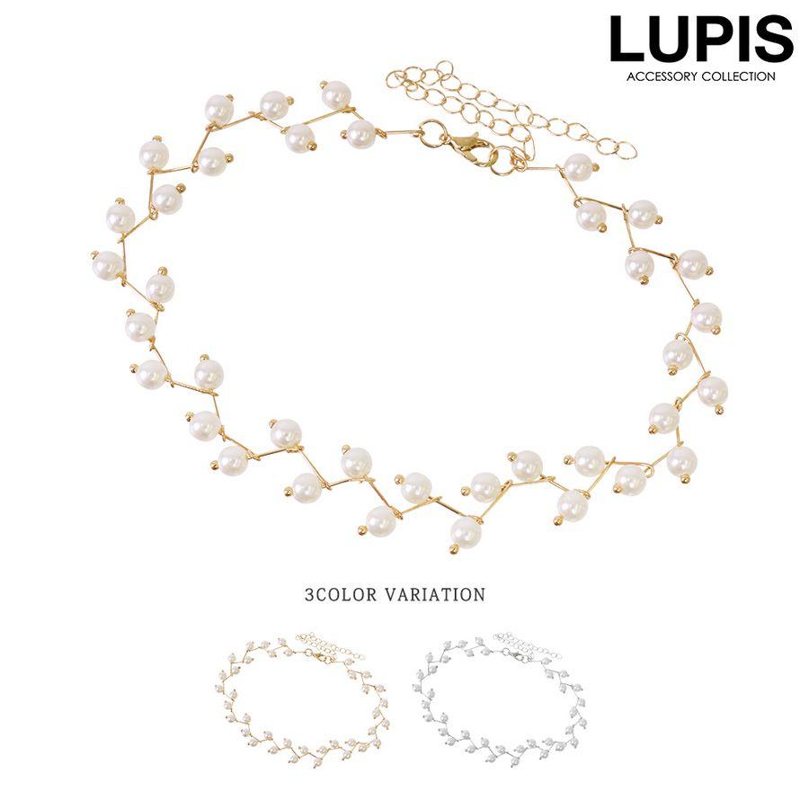 ルピス(LUPIS)激安ジャギーパールチョーカーネックレス通販販売