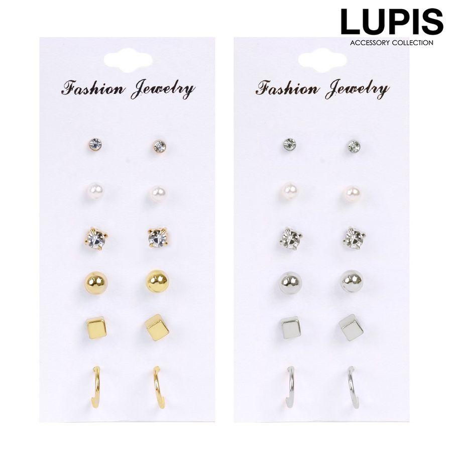 ルピス(LUPIS)激安シンプルスタンダードピアスセット通販販売