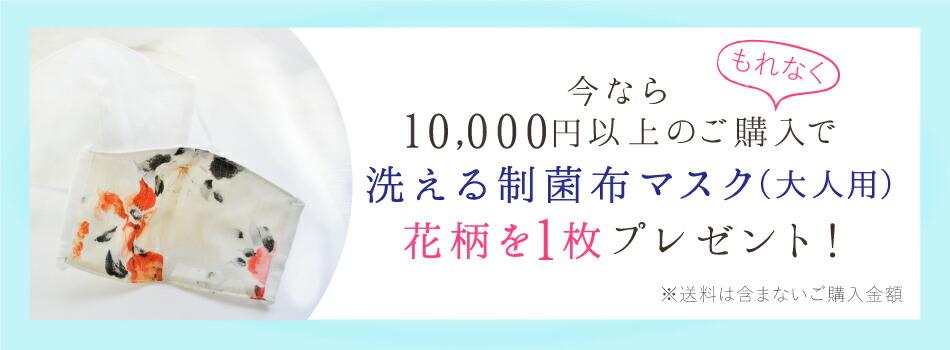 制菌布マスクプレゼント
