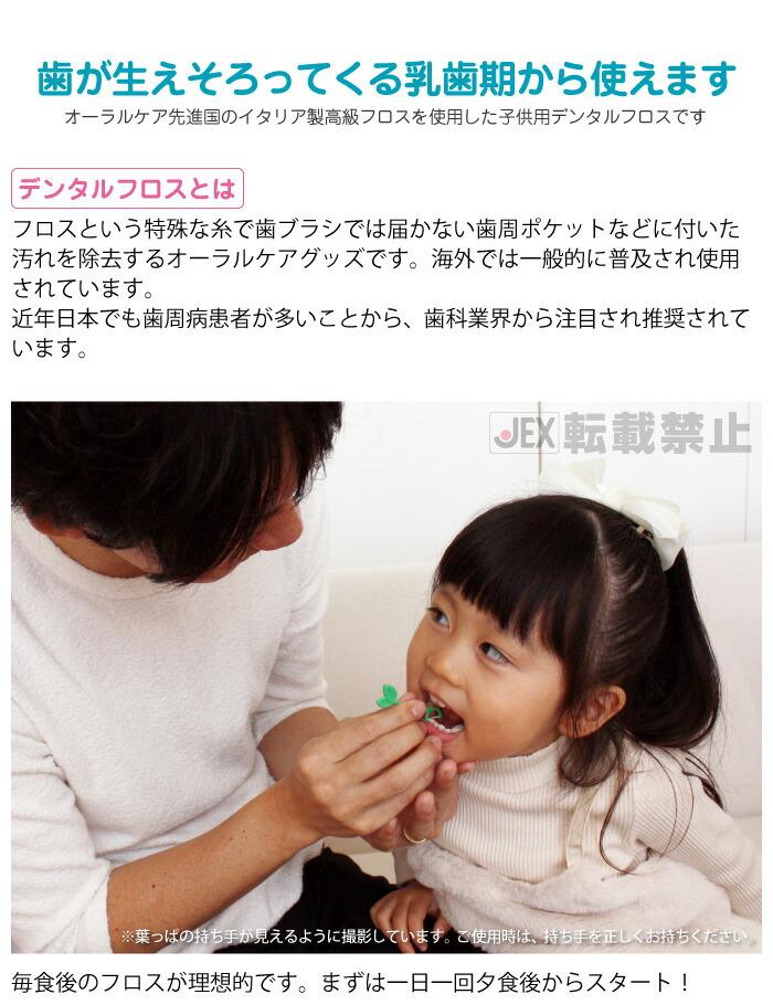 歯が生えそろってくる乳歯期から使えます