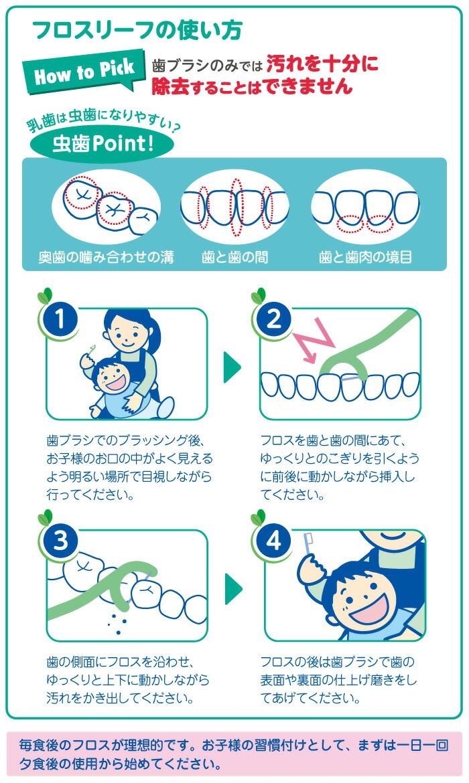 歯ブラシのみでは汚れを十分に除去することはできません