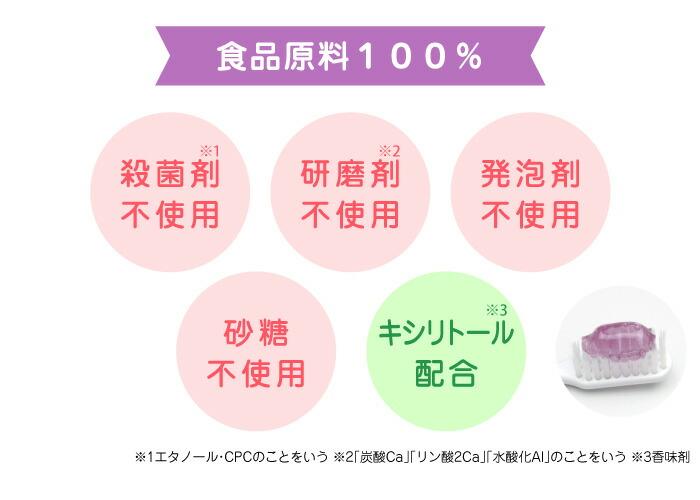 食品原料100%