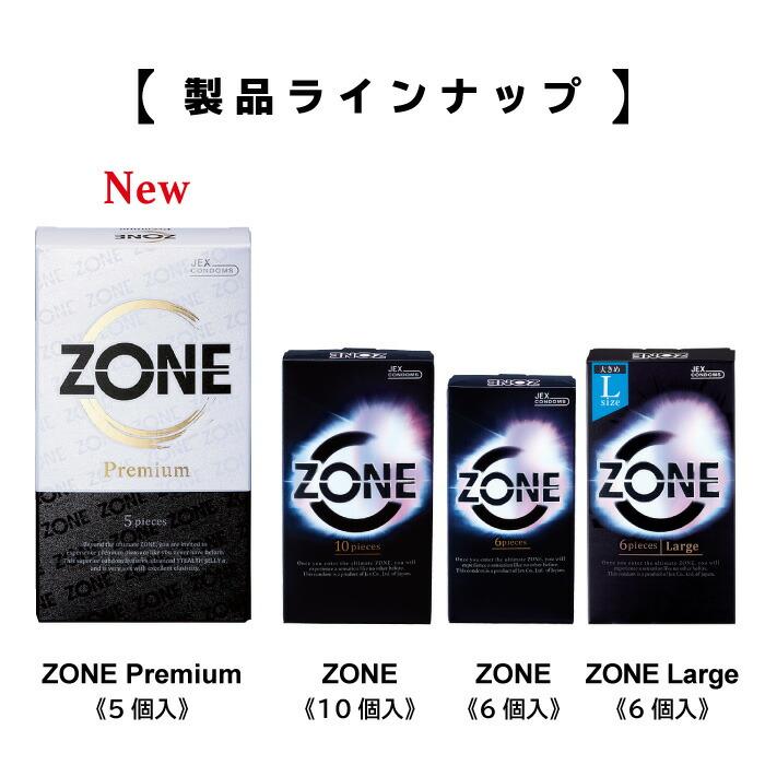 ZONEシリーズ製品ラインナップ