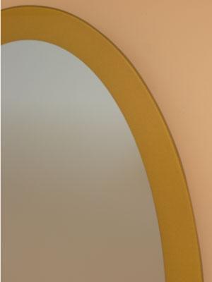 ゴールド-楕円