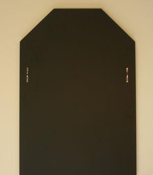 ゴールド-八角形W400×H1500【壁掛け用】裏面
