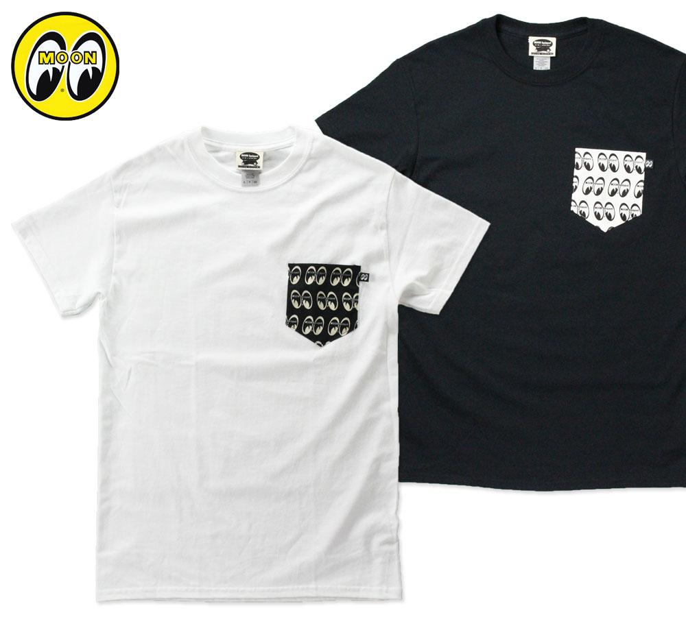ムーンアイズ Tシャツ ポケット付き MOON Equipped Fabric Pocket
