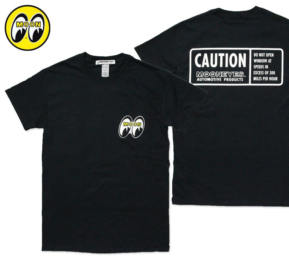 ムーンアイズ Tシャツ MOON CAUTION