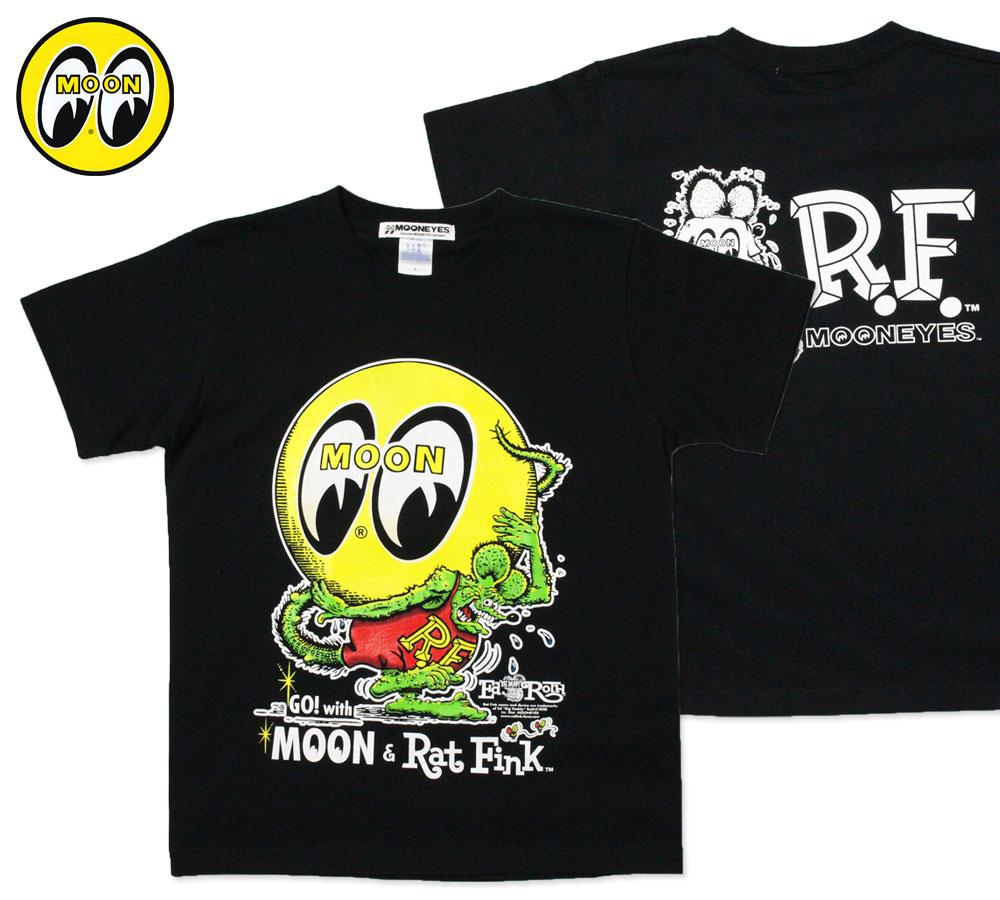ムーンアイズ Tシャツ ラットフィンク Eyeball