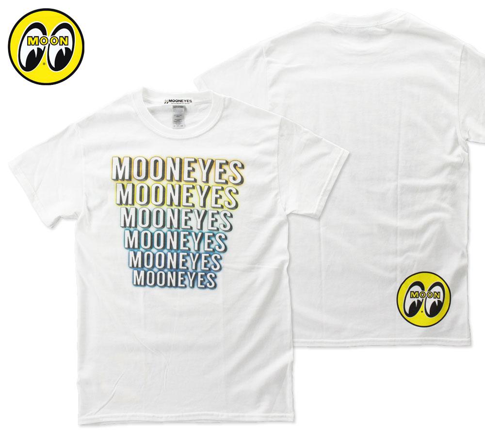 ムーンアイズ Tシャツ MOON 3D Logo