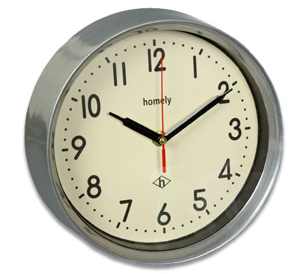 HOMELY VINTAGE WALL CLOCK