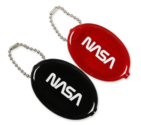 NASA ラバーコインケース