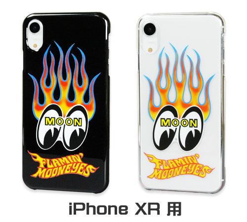 ムーンアイズ(MOONEYES) iPhoneXR ケース Flamin MOON