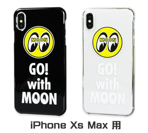ムーンアイズ(MOONEYES) iPhoneXs Max ケース GO with MOON