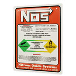 US EMBOSSED SIGN NOS ワーニングサイン