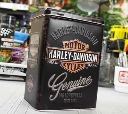 ハーレーダビッドソンティンボックスLサイズHARLEY-DAVIDSONのデザイン