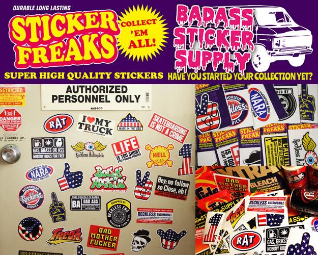 ステッカー アメリカン BADASS STICKER SUPPLY2のバナー