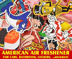 アメリカン エアフレッシュナーのバナー