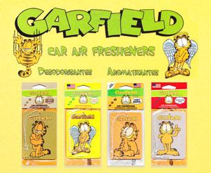 新聞漫画から誕生したネコキャラクター、ガーフィールド♪ ガーフィールド エアフレッシュナーのバナー