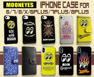ホットロッドカスタム、ムーンアイズのiPhoneケースシリーズ♪ ムーンアイズ iphoneケースのバナー
