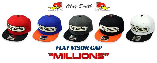 クレイスミス キャップ 帽子 MILLIONS