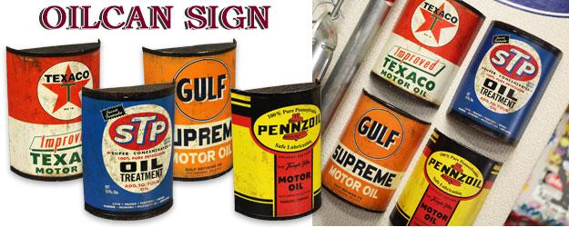 STP GULF テキサコ ペンゾイル サイン 看板のバナー